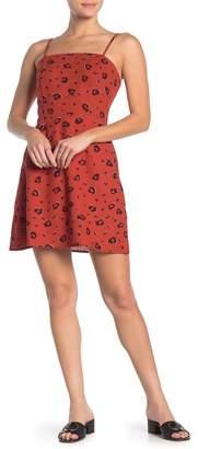 Cotton On Krissy Animal Print Mini Dress