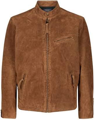 Polo Ralph Lauren Suede Racer Jacket