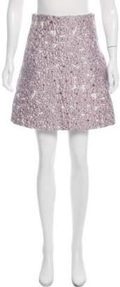 Giamba Patterned Mini Skirt w/ Tags