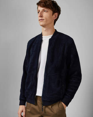 Ted Baker SHERPA Fleece bomber jacket