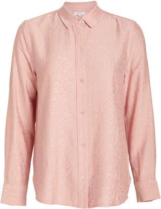Equipment Leema Jacquard Button Down Shirt