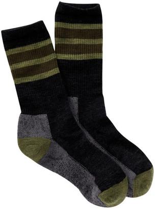 SmartWool Stripe Hike Crew Socks $19.95 thestylecure.com