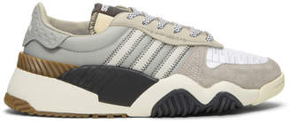 adidas by Alexander Wang Grey Turnout Trainer Sneakers