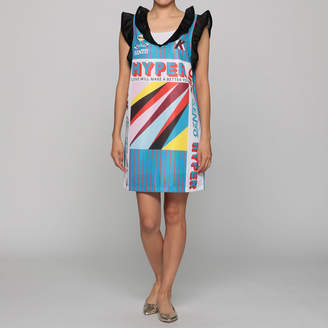 Kenzo (ケンゾー) - ケンゾー SLEEVELESS DRESS WITH RUFFLES