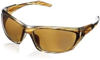 Greg Norman G4608 Polarized Sport Soft Rectangle Melanin Sunglasses