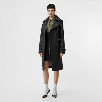 Burberry Logo Detail Showerproof Trench Coat