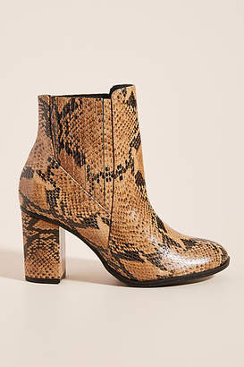Schutz Snake Ankle Boots