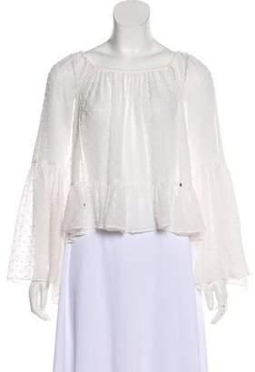 Ulla Johnson Long Sleeve Peasant Shirt