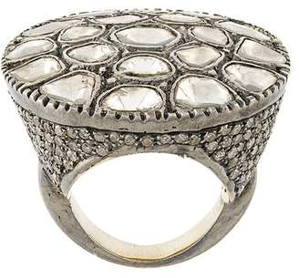 Christian Koban Sliced diamond ring