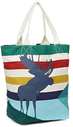 HBC HUDSON'S BAY COMPANY Charles Pachter Canvas Tote
