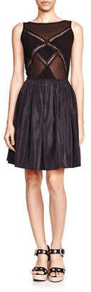 The Kooples Lace Panelled Dress