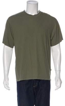 Alexander Wang Solid Woven T-Shirt