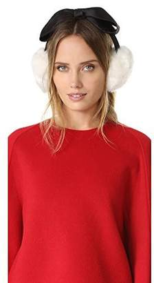 Kate Spade Women's Earmuffs with Satin Bow