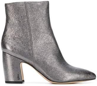 Sam Edelman metallic ankle boots