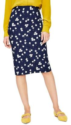 Boden Richmond Stretch Cotton Pencil Skirt