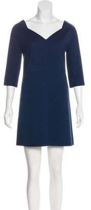 Courreges Jacquard Mini Dress