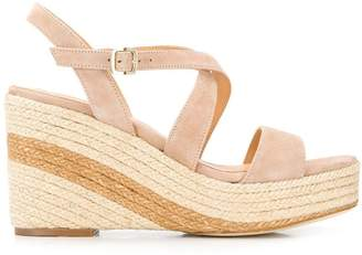 Paloma Barceló cross strap wedges