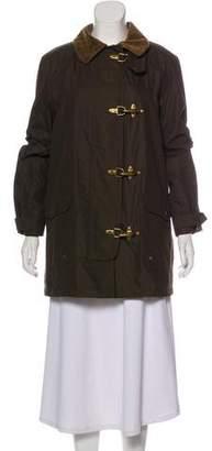 Lauren Ralph Lauren Corduroy Collar Coat