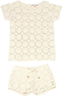 Bonpoint Ecru Cotton Top