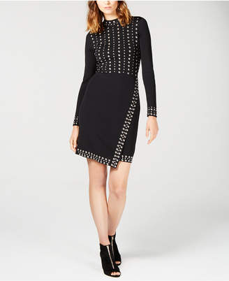 INC International Concepts I.n.c. Studded Sweater Dress