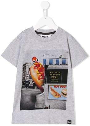 Molo hot dog printed T-shirt