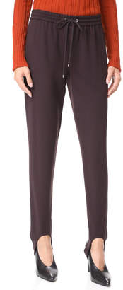 Theory Pull On Stirrup Pants $225 thestylecure.com