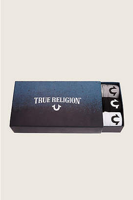 True Religion 3 PACK MENS BOXER BRIEFS
