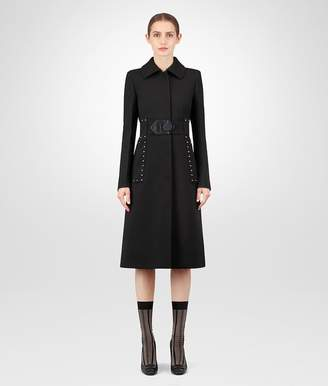 Bottega Veneta Nero Wool Coat