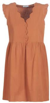 Betty London KEYLE women's Dress in Brown