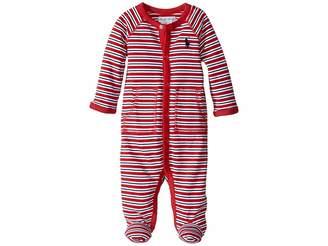 Ralph Lauren YD Interlock Stripe Coveralls (Infant)