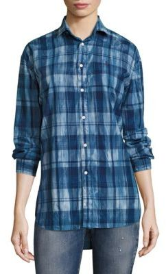 Polo Ralph Lauren Boyfriend Madras Shirt $125 thestylecure.com