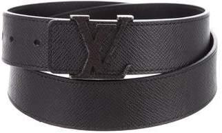 Louis Vuitton Taiga Initiales 35MM Belt