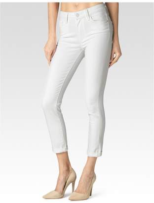 Paige Hoxton Crop Rollup - Optic White