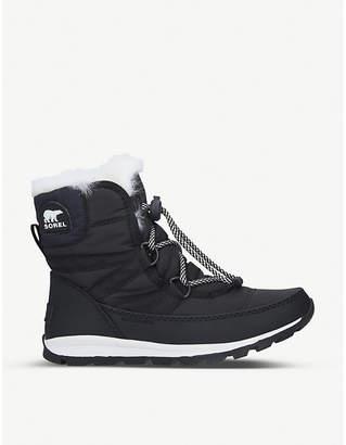 Sorel Whitney nylon shell boots