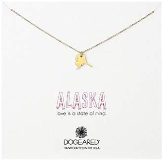 Dogeared State of Mind Alaska Necklace