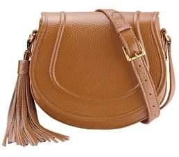GiGi New York Jenni Pebbled Leather Saddle Bag