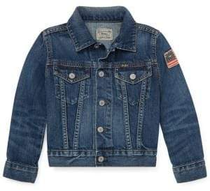 Ralph Lauren Little Boy's Denim Jacket