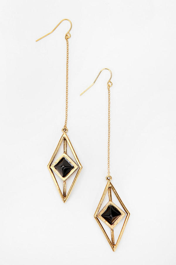 Hex By Lady Grey Pendulum Earring