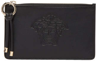 Versace Black Day Dreamer Medusa Zip Pouch