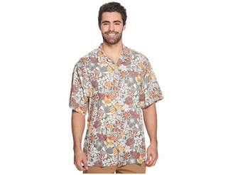 Tommy Bahama Big Tall Subtropical Palm IslandZone Camp Shirt