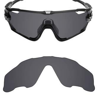 8396043384a Oakley Mryok Polarized Replacement Lenses for Jawbreaker - Stealth Black