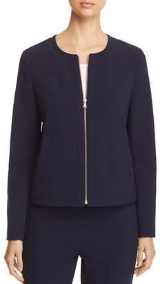 Donna Karan Lightweight Zip-Front Jacket