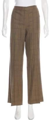 Lafayette 148 High-Rise Wool Pants