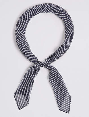 M&S Collection Pleated Scarf