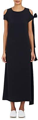 Helmut Lang Women's Cutout-Shoulder Maxi Dress