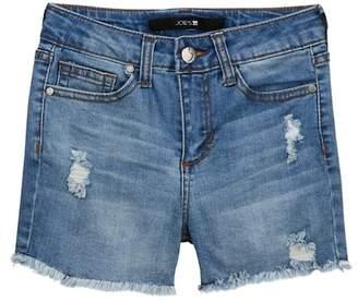 Joe's Jeans Hi Rise Destructed Shorts (Big Girls)