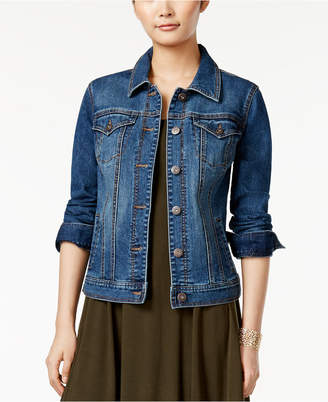 Style & Co. Denim Jacket, Only at Macy's $64 thestylecure.com