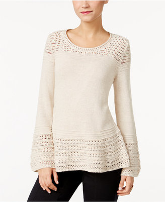 Style & Co. Bell-Sleeve Sweater, Only at Macy's $54.50 thestylecure.com