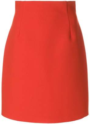 MSGM high rise mini skirt