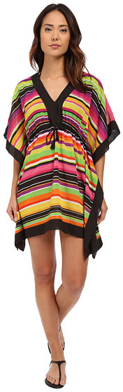 Lauren Ralph LaurenLAUREN Ralph Lauren Sunset Stripe Sydney Tunic Cover-Up